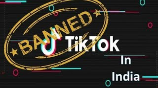 Tiktok Banned in India /full details/why is ban
