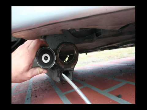 e46 m3 Rear Trailing Arm bushing remove and install RTAB
