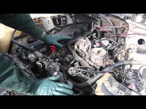 1985 mercedes benz 380se with fuel problem how to save for Mercedes benz fuel injector problems