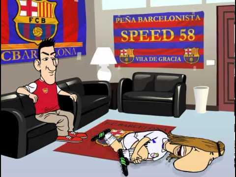 Mourinho intenta fichar a Cesc Fabregas (Marca Toons)