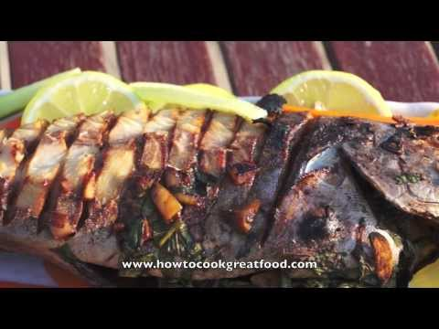 Asian Food - Easy Whole Fish BBQ or Baked Recipes