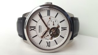FOSSIL ME3104 AUTOMATIC. Обзор\\Review