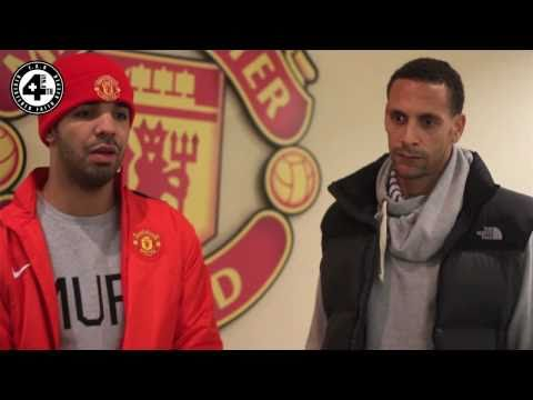 Drake meets Rio Ferdinand to talk music & sport with 4nB