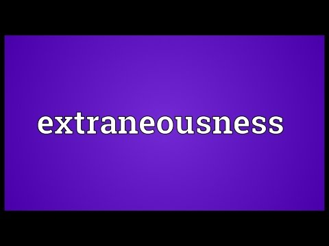 Header of extraneousness