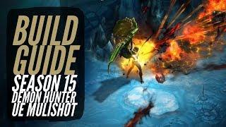 Diablo 3 - Season 15 Demon Hunter Unhallowed Essence Multishot Build Guide