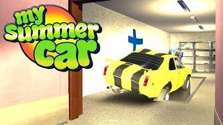 UWIĘZIŁEM SEBIXA W GARAŻU - My Summer Car #58