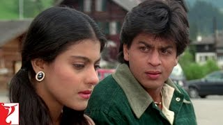 Scene: Dilwale Dulhania Le Jayenge | Jab Kisise Pyaar Ho Jayega | Shah Rukh Khan | Kajol
