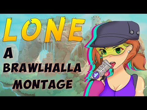 Lone - A Brawlhalla Montage | +CC GIVEAWAY!