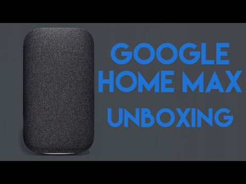 Apple Sheep Unboxes the Google Home Max