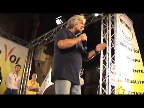 Beppe Grillo a Barcellona Pozzo di Gotto SICILIA – Movimento 5 Stelle (parte 3 di 4)