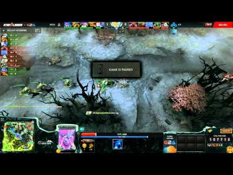 C9 vs SFZ, SLTV 12 EU GS1, Group C, game 2 part 1