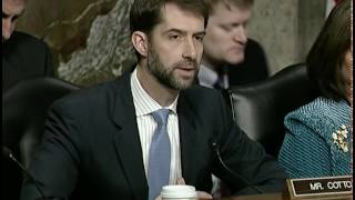 BOOM: Sen.Cotton BLOWS UP the