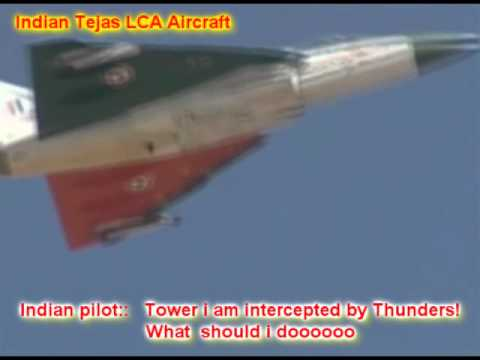 Indian Air Force Tejas LCA vs Pakistani JF-17 Thunder DogFight!