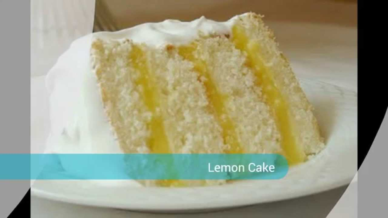 Moist Lemon Sponge Cake Recipe