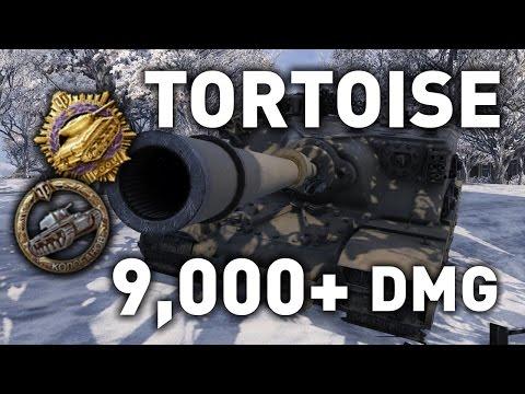 World of Tanks || Tortoise - 9,000 Damage...