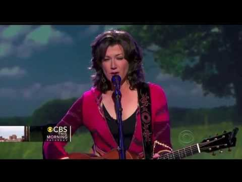 CBS:Saturday Amy Grant 5/18/13 Our Time is Now &amp; Don't Try So Hard from How Mercy Looks From Here.