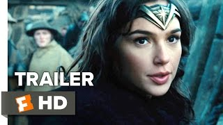 Wonder Woman Official Trailer 2 (2017) - Gal Gadot Movie