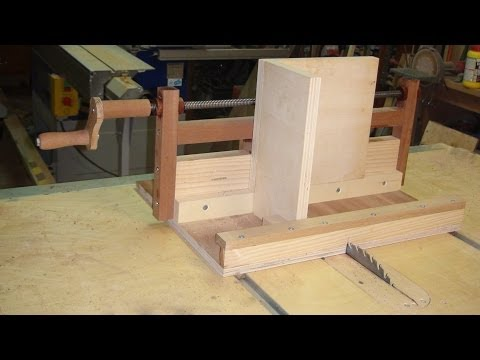 Box Joint Jig to Table Saw - Exact Screw - simple. accurate and effective jig