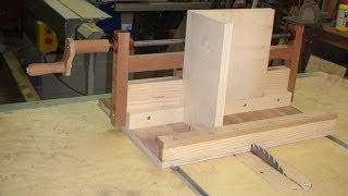 Box Joint Jig to Table Saw - Wood Machine with Exact Screw - Very Accurate