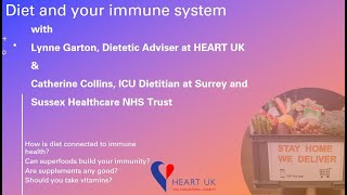 Diet and your immune system during COVID-19