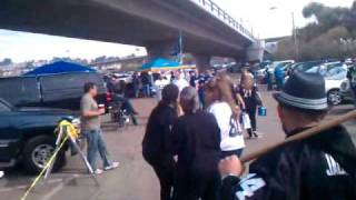 RAIDERS VS CHARGERS TAILGATE 2010 VIDEO0101.3gp