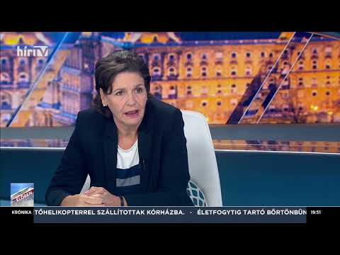 Magyarország élőben Pölöskei Gábornéval (2019-11-20) - HÍR TV