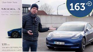 Tesla Model 3 - die ersten 1111 km im Neuwagen - Einstellungen Erfahrungen Vergleich zum Model S