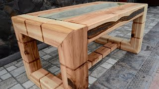 Ash tree coffee table