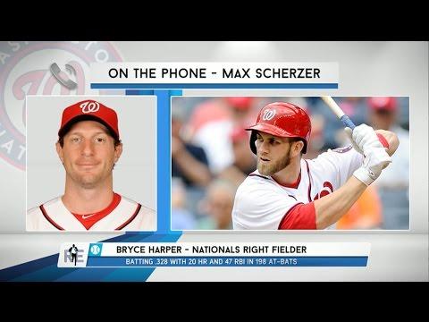 Nationals Pitcher Max Scherzer on Bryce Harper's Unwritten Rule Violation - 6/12/15