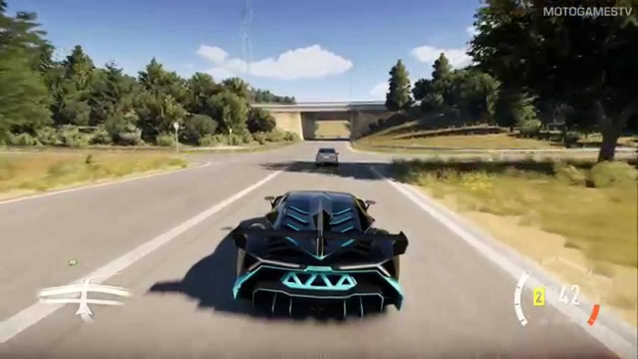 forza horizon 2 xone lamborghini veneno gameplay youtube. Black Bedroom Furniture Sets. Home Design Ideas