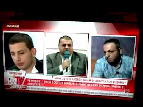 Scandal cu Ion Petrisor la Cancan TV pe Acasa Tv