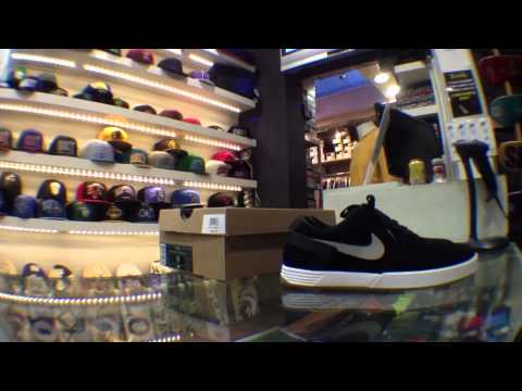 Backflip - Nike Paul Rodriguez 6 - Black/White - Stop motion