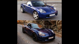 2000 TOYOTA MR2 Spyder / Roadster - 5 years transformation