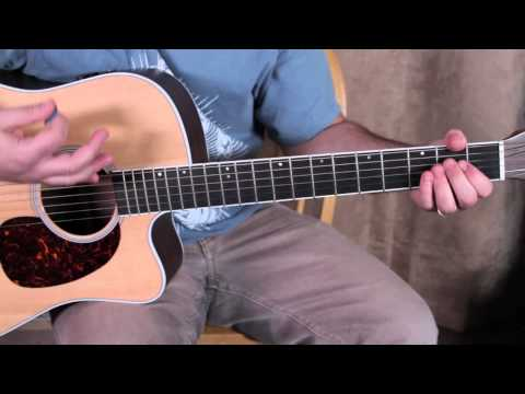 Bob Seger Inspired Easy Acoustic Song Guitar Lesson - Easy Songs On Guitar