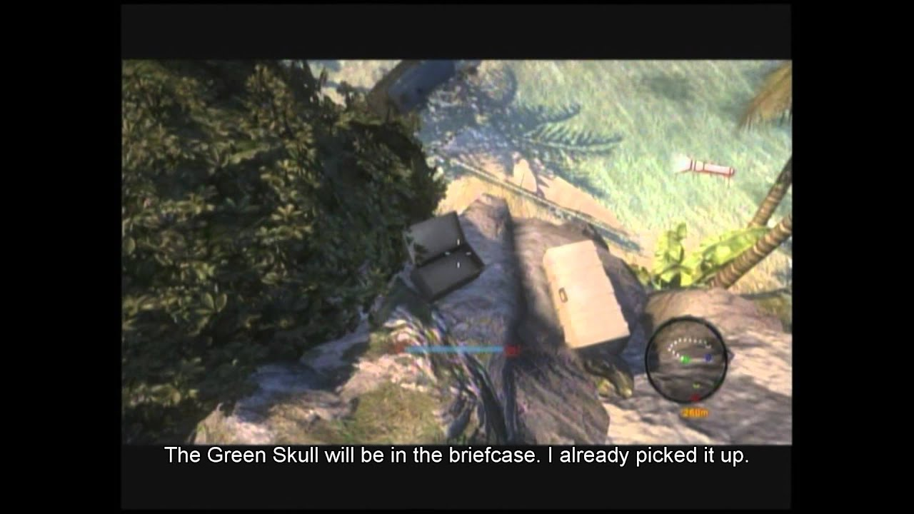 Dead Island Green Skull Drop Off Map