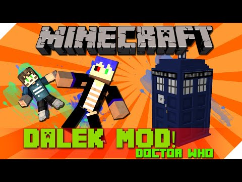 minecraft รีวิว Mod - Mod The Dalek [โกสคุง] มันข้ามเวลาได้