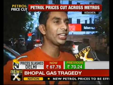 Petrol prices cut by Rs 2.46/litre - NewsX