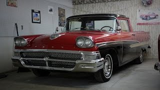 1958 Ford Ranchero 292 Y-block V8 3 spd at Country Classic Cars