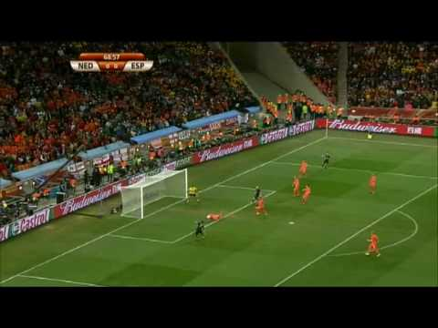 Espaa, campeona del Mundo! Holanda 0 - 1 Espaa