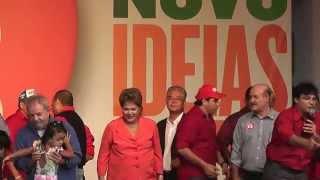 Vaias ao prefeito de Goiana Fred Gadelha durante visita de Dilma e Lula