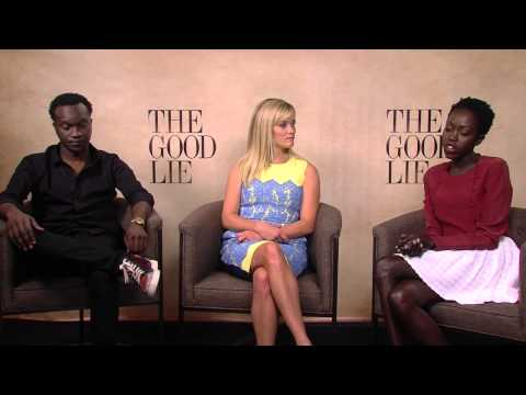 The Good Lie: Reese Witherspoon, Arnold Oceng, & Kuoth Wiel Official Interview