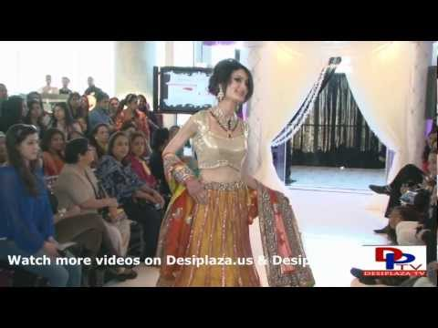 Part 1. Second Fashion Show at South Asian Bridal Show 2013