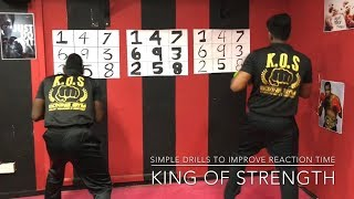 Simple drills to increase Reaction Time| Boxing Tutorial