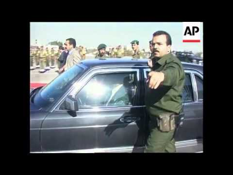 West Bank - Arafat meets Jordanian Prime Minister