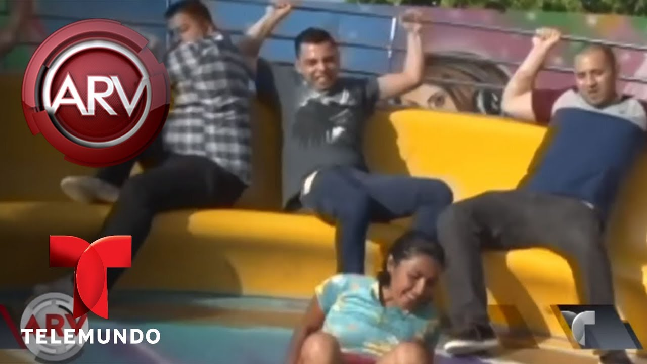 Famoso juego mecánico acapara la atención en esta feria | Al Rojo Vivo | Telemundo