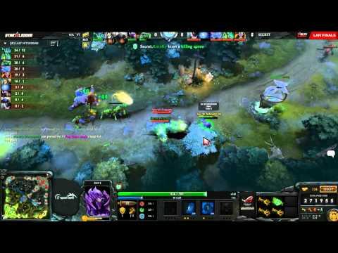 Na`Vi vs Team Secret, SLTV StarSeries X Finals, Day 2, Game 4