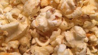 Homemade Flavored Popcorn - Blue Cheese/Bacon, Nacho/Habanero, Buffalo/Ranch,  Salt & Vinegar