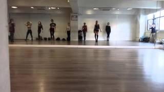 Elena Fraules Heels Class in HK