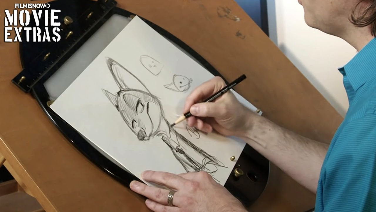Zootopia 'How to Draw Nick Wilde' Featurette (2016)
