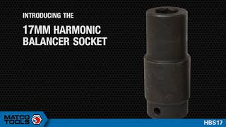 HARMONIC BALANCER SOCKET, 17MM- HBS17